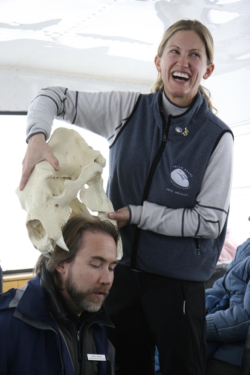 Polar Bears International on the Tundra Buggy